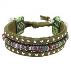 Armband Bohemian Green