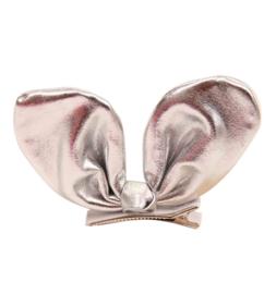 Haarclip Bunny Silver