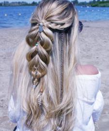 IBIZA Hairwrap Boho   Swirl