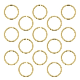 Hair ring Goud