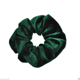 Velvet Scrunchie Green
