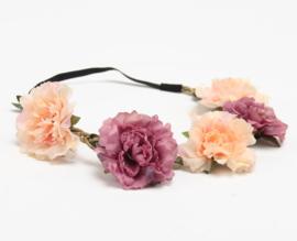 Haarband Flower Pink Purple