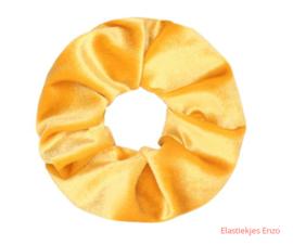Velvet Scrunchie Yellow