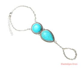 Armband BoHo Turquoise
