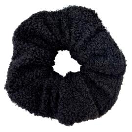 XXL Scrunchie Soft Teddy | Black