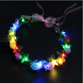 LED Hoofdband 'Roos' | Multi Color