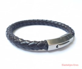I*H Leather Bracelet Milan | Black