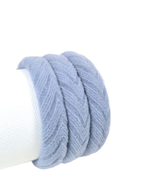 Haarelastiek Knitted | Light Grey