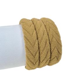 Haarelastiek Knitted | Brown
