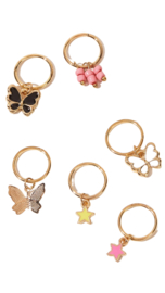 Hair ring Butterfly