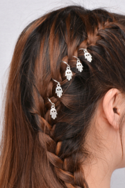 Hair ring Hand Zilver
