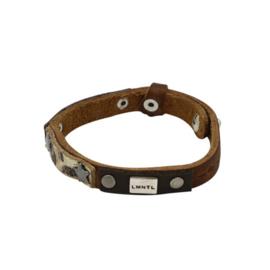 LMNTL |  Armband Small Star Studs | Brown