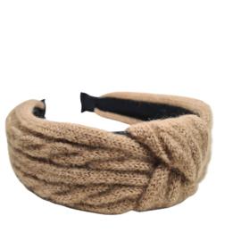 Haarband Knitted | Khaki