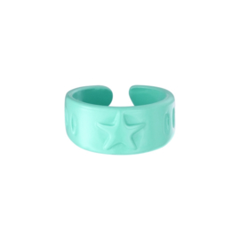 Candy Ring Sterren| Mint