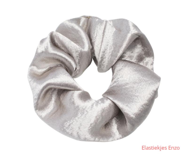Srunchie Soft As Satin |Silver