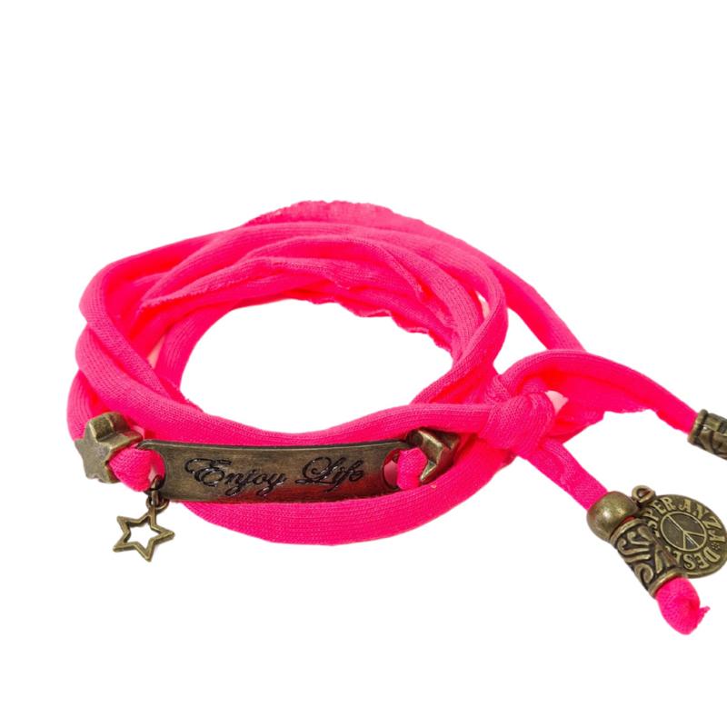 Esperanza  Deseo| Enjoy Life | Neon Pink