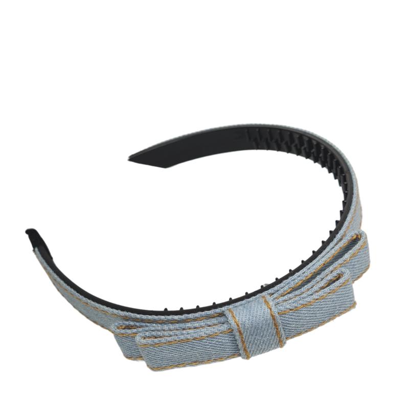 Haarband Jeans Licht Blauw