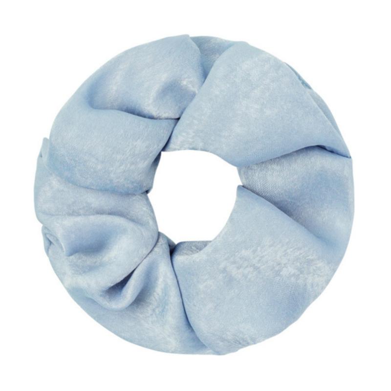 Srunchie Soft As Satin   Pastel Blauw