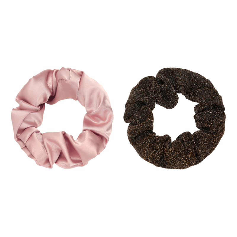 Scrunchie Set of Two | Pale Pink