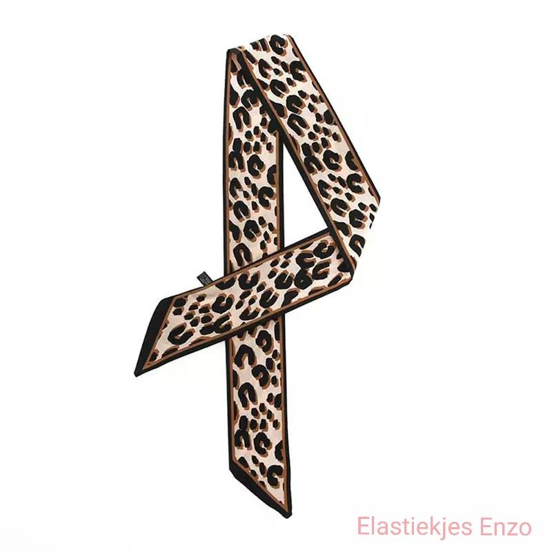 Haar sjaaltje Leopard