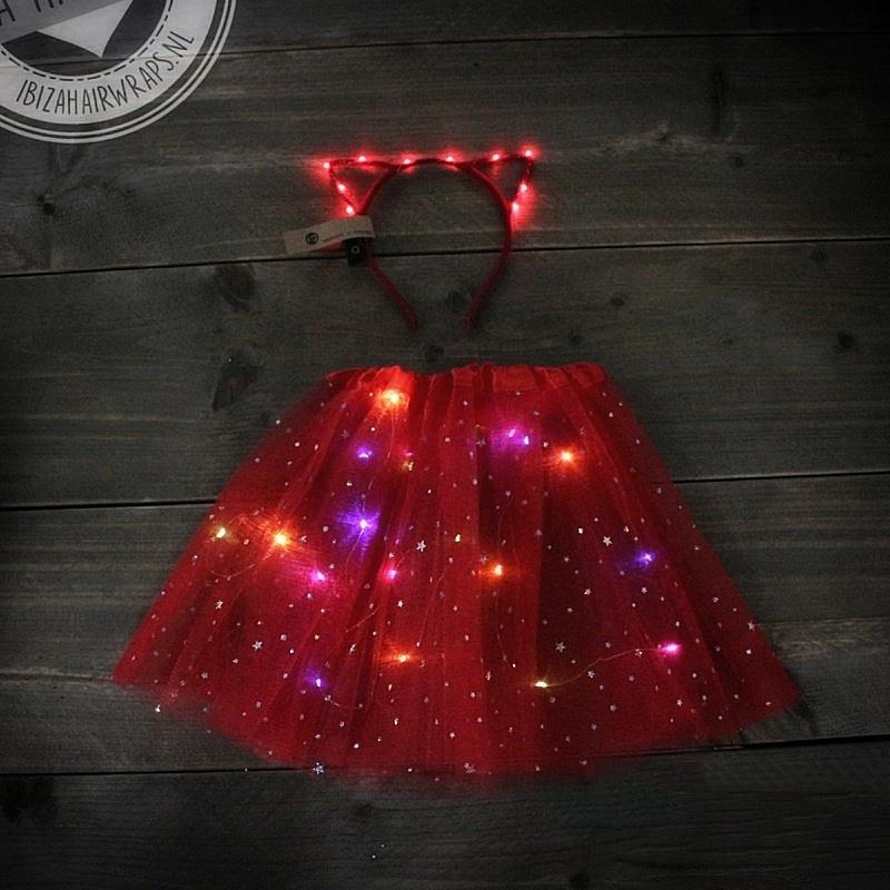 LED TuTu SET| Red Cat