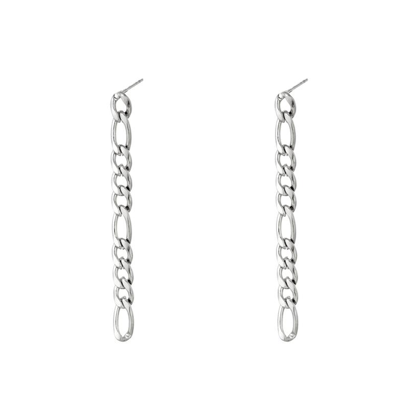 Oorbellen Chain | Zilver