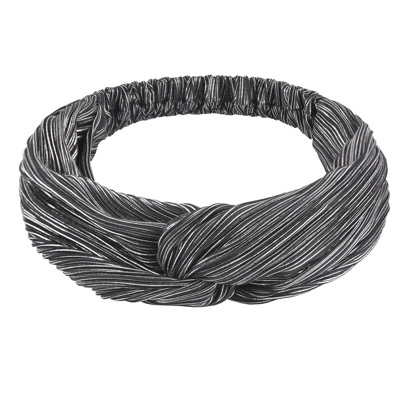 Haarband Shine   Black