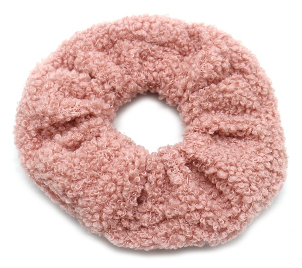 Scrunchie Soft Teddy | Pale Pink