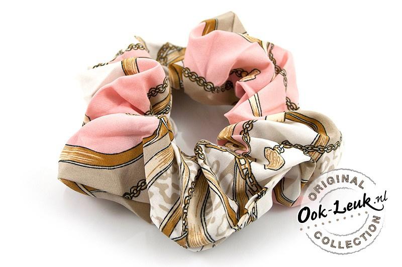 Srunchie Chain   Pink