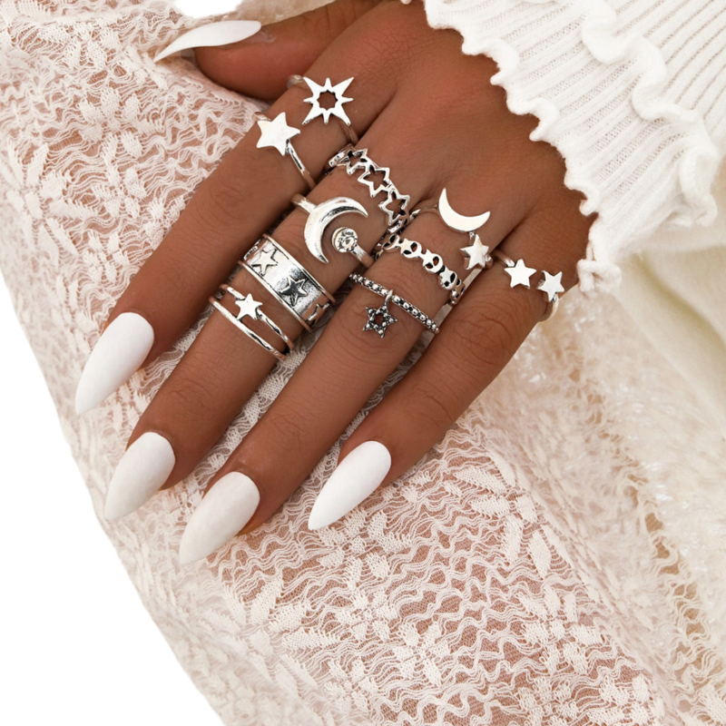 Ring Set | To the moon and back