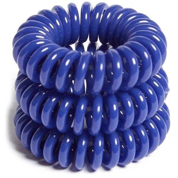Telefoonsnoer elastiek Navy Blue (XS)