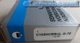 C102HCRRUL Barden = HCB7002-C-2RSD-T-P4S FAG
