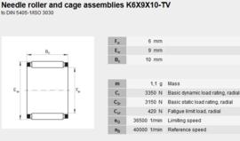 K6x9x10-TN INA