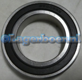 6009-2RS in RVS LDI SS6009-2RS W6009-2RS