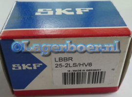LBBR25-2LS/HV6 SKF in RVS