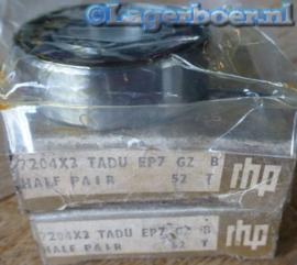 7204-X3 TADU/EP7 RHP (gepaarde set van 2)
