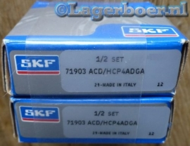 71903-ACD/HCP4ADGA SKF (Gepaarde set van 2)