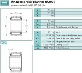 NA4904-2RS IKO