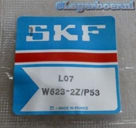 W623-2Z/P5 RVS hoge precisie minilagers SKF