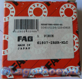 61807-2RS-HLC FAG