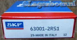 63001-2RS SKF