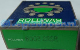 6003-2RS Rollway