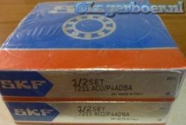 7211-ACD/P4ADBA SKF (Gepaarde set van 2)