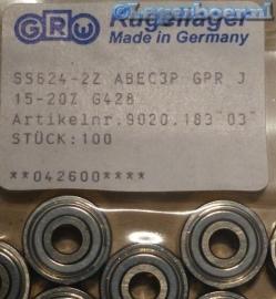 624-2Z RVS GRW SS624-2Z W624-2Z