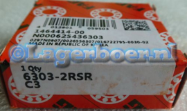 6303-2RS/C3 FAG