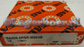 6209-2RS in RVS FAG (S6209-2RS.W203B)