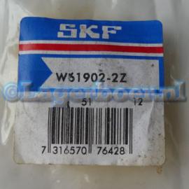 61902-2Z SKF in RVS W61902-2Z SS61902-2Z