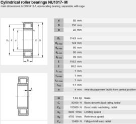 NU1017-ML SKF