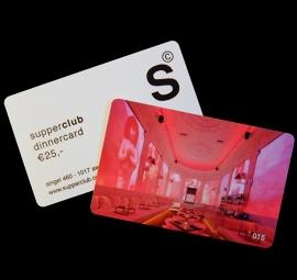 supperclub dinnercard