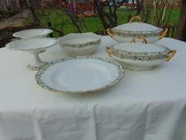 """Limoges bowls """"Jules Bloch Paris"""""""